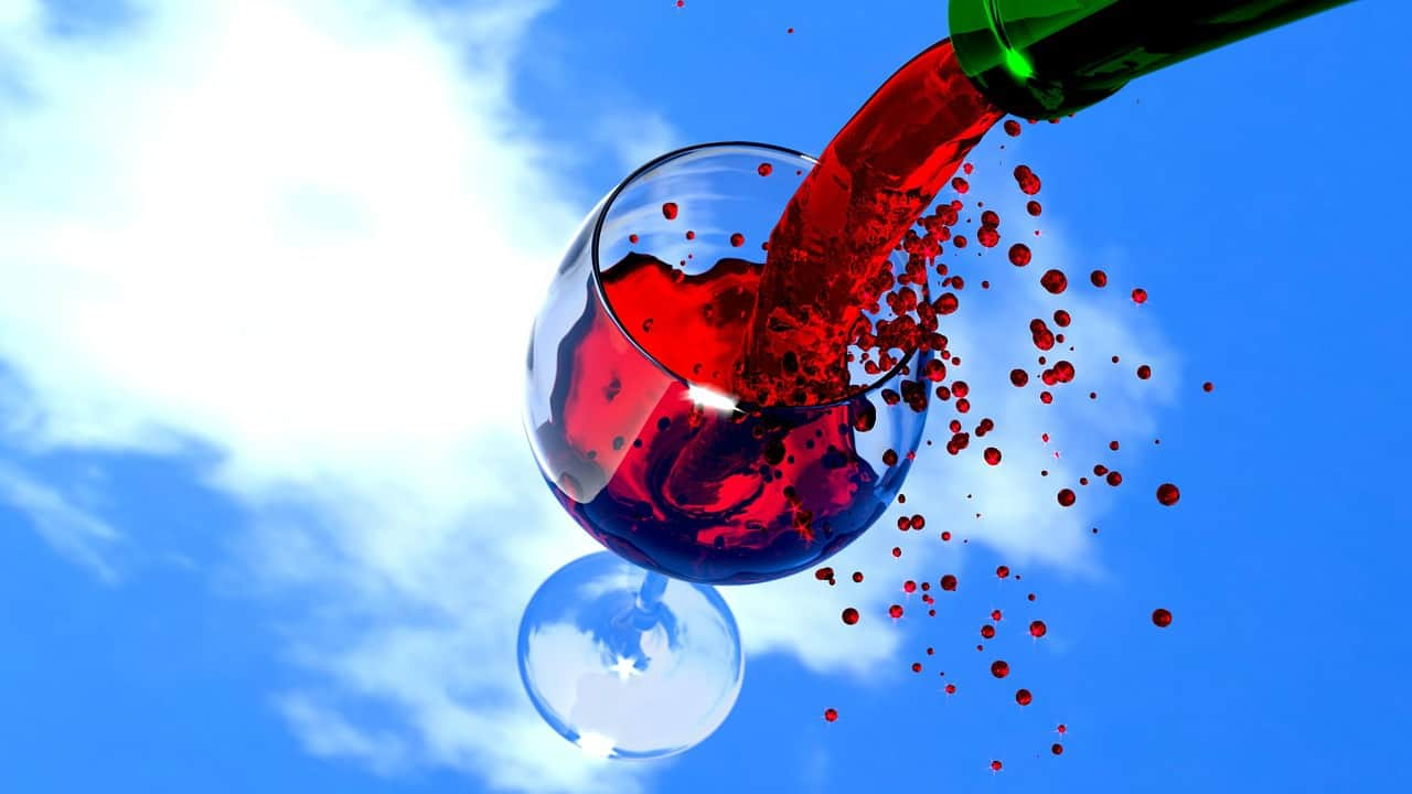 Can red wine improve heart health